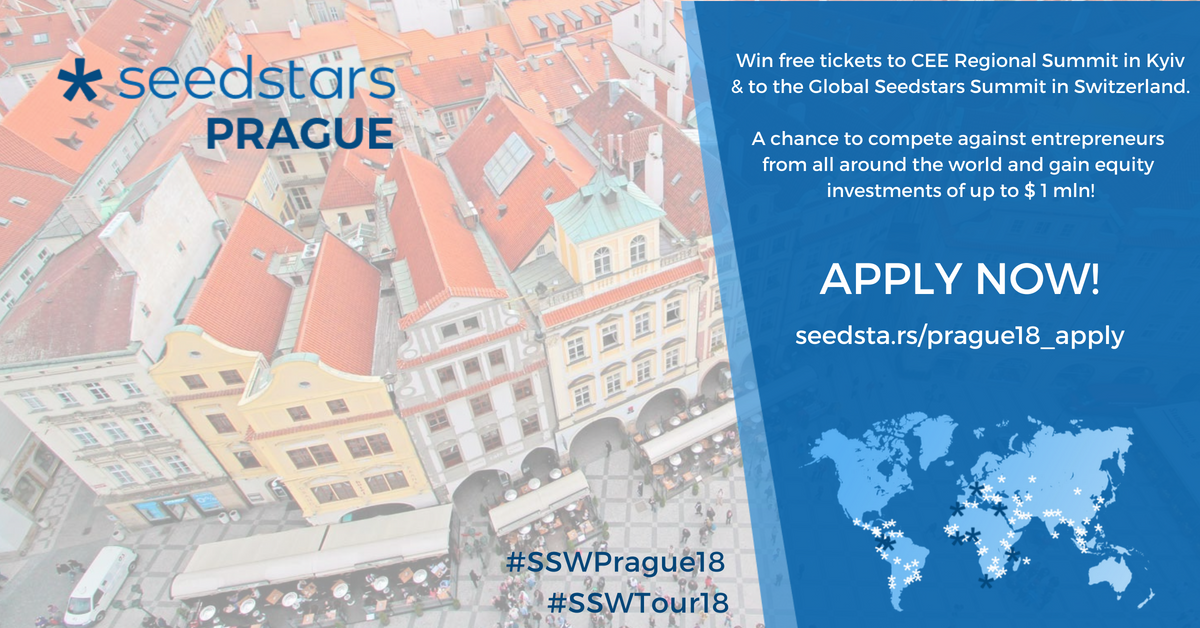 Seedstars is coming to Prague to Find the best startup in Czech Republic. See Whalebone, the winner of the 1st batch of DEXIC Accelerator.